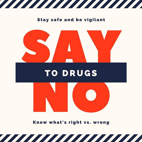 Drug Education PDF Education Flyer