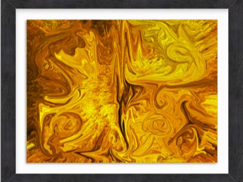 Golden Streams Butterfly