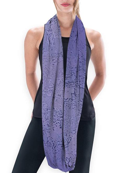 Purple Elegance Eco Scarf