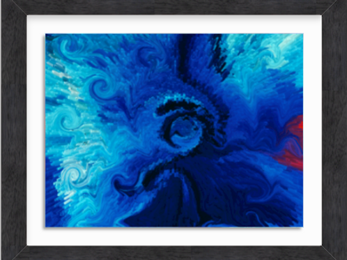 Cobalt Blue Flower (c) 2020