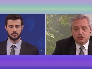 Intenso cruce entre Diego Leuco y Alberto Fernández durante una entrevista
