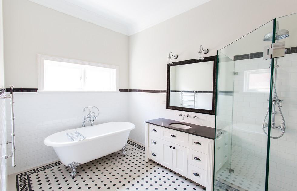 French provincial bathroom