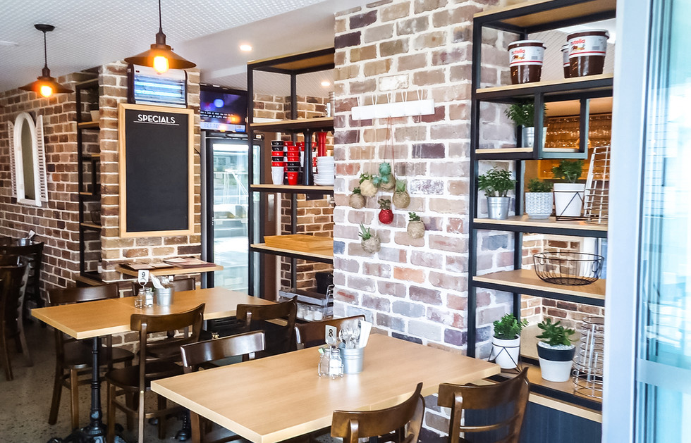 Restaurant joinery