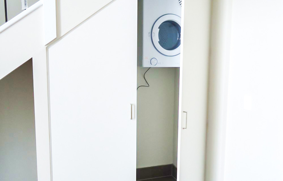 Understair laundry