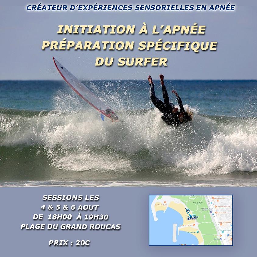 Marseille : Initiation apnée pour surfers - 5 août 18h00