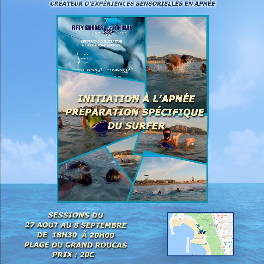 Marseille : Initiation apnée pour surfers - 1 sept 18h30