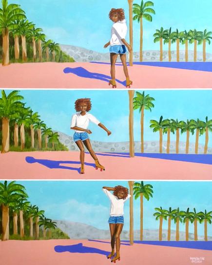 Rollerskate Girl #2