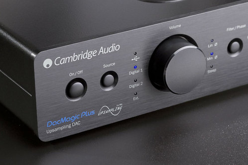 ЦАП Cambridge Audio DacMagic Plus Silver Цвет Серебристый
