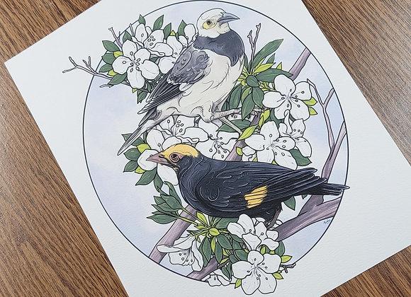 Bird Print 2020 Study Giclée Print