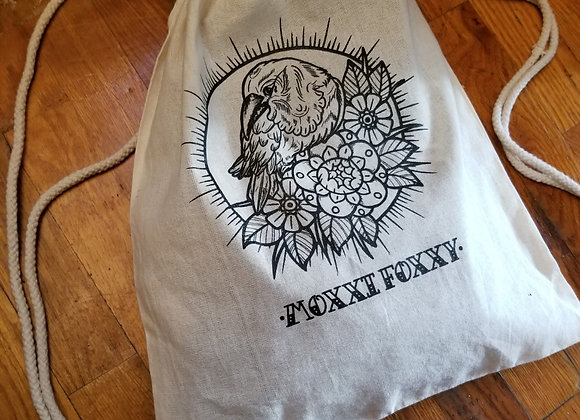 Draw string backpack