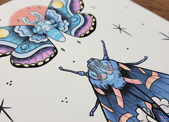 Moths 2020 Giclée Print