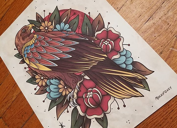 Golden Eagle, Giclée Print