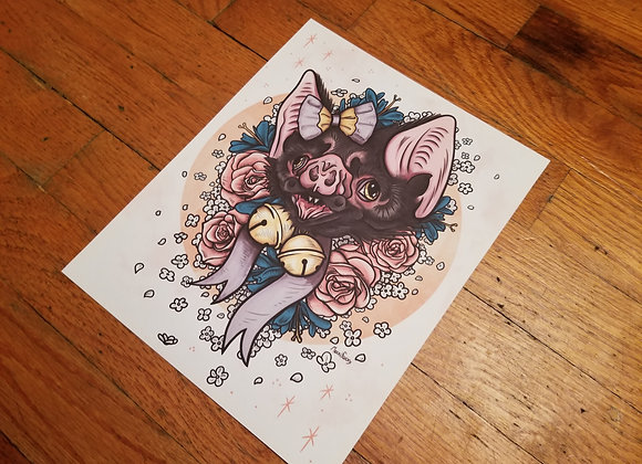 Cutie Bat, Giclée Print