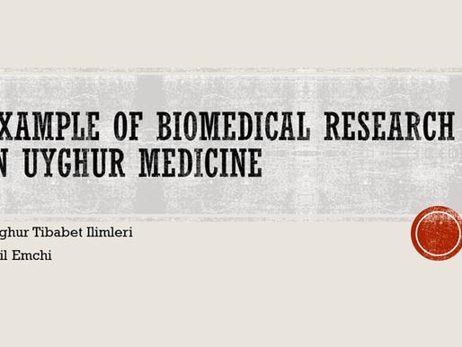 Example of Biomedical Research in Uyghur Medicine