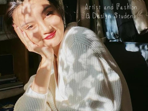 Aynure Alim: Artist and Fashion & Design Student