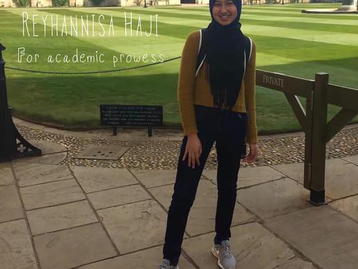 Reyhannisa Haji: Academic Prowess