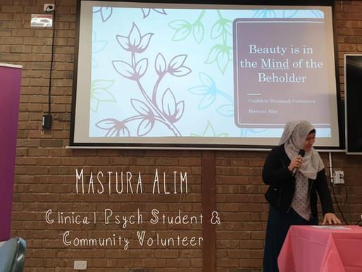 Mastura Alim: Clinical Psych Student & Community Volunteer