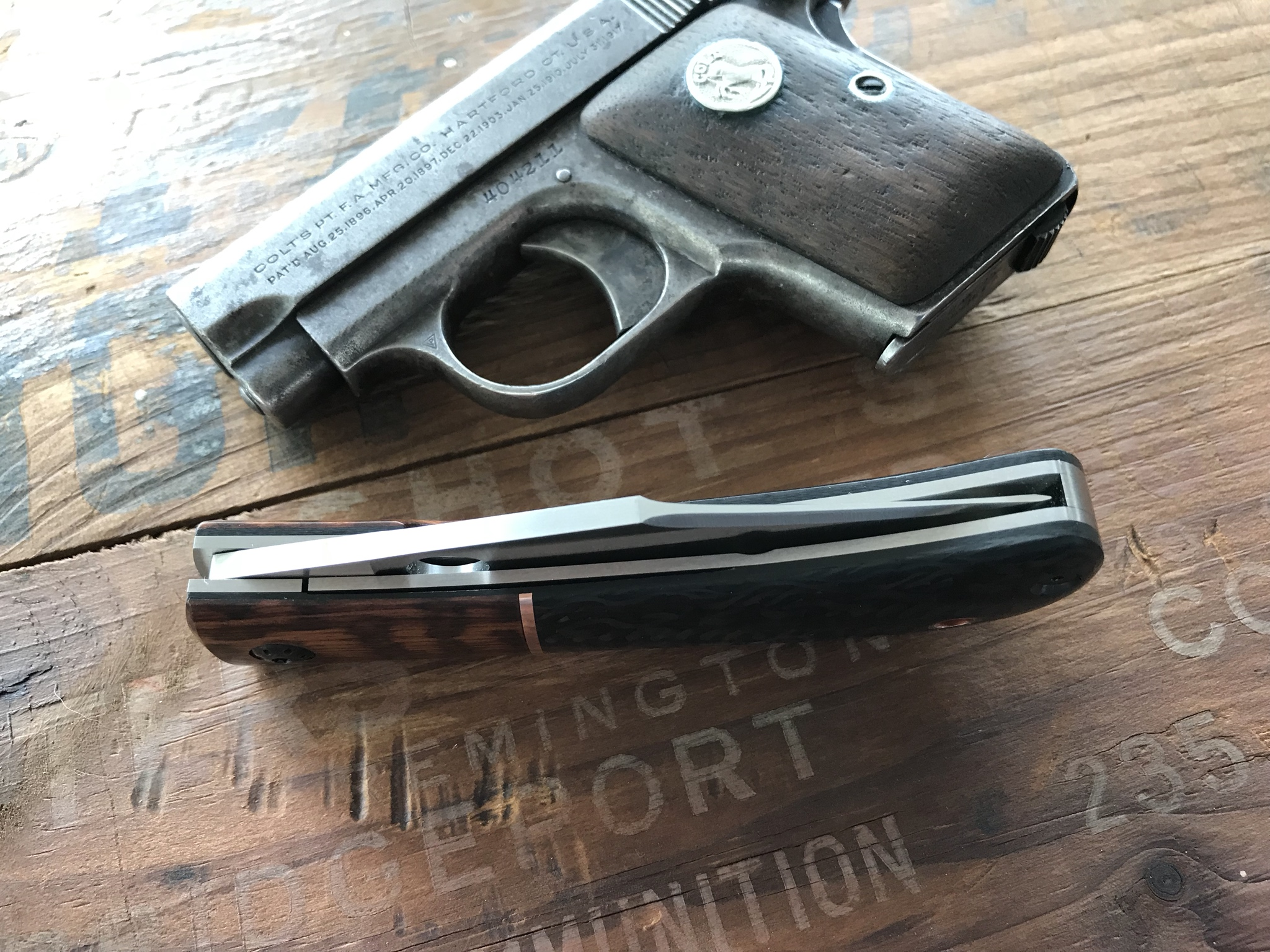 Lanny's Clip - Closed Presentation Pistol II