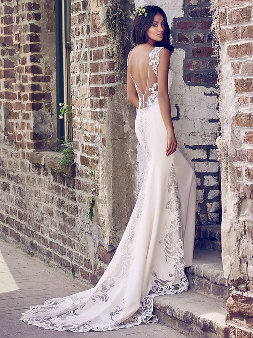 VERONICA BY MAGGIE SOTTERO/ SIZE 8