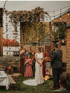 Morgan's Wedding in Allure Bridal Gown