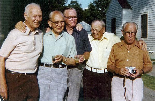 Charles Capps, Lloyd Foltz, Orlan Voth,