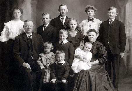Charles & Maren Hotvedt with family.jpg