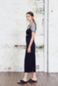 Wide Strap Keyhole Silk Slip Dress
