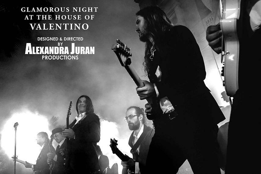 ALEXANDRA JURAN ARTEGO VALENTINO EVENT