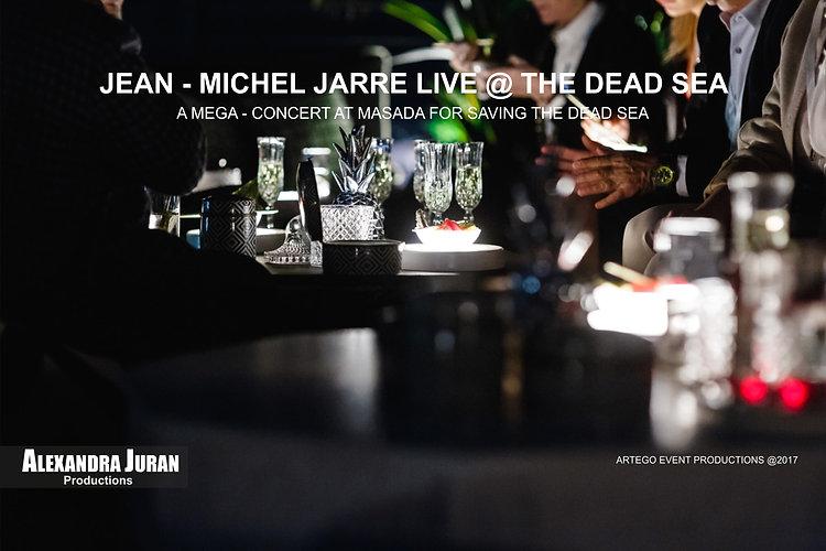 ALEXANDRA JURAN ARTEGO JEAN MICHEL JARRE