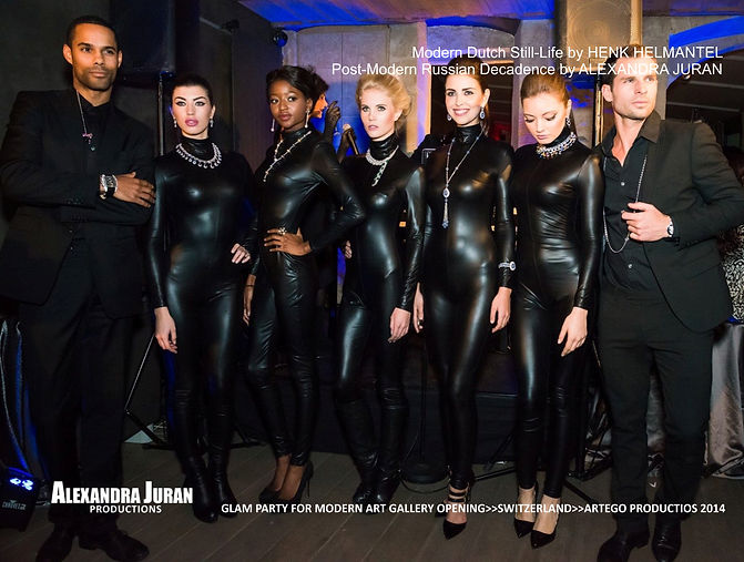 ALEXANDRA JURAN ARTEGO GALLERY GLAM PARTY