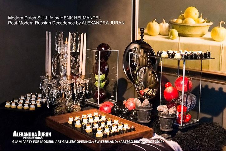 ALEXANDRA JURAN ARTEGO GALLERY GLAM PARTY