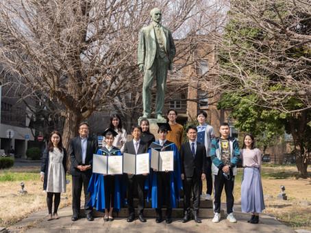 2021年3月19日 大学院修了式