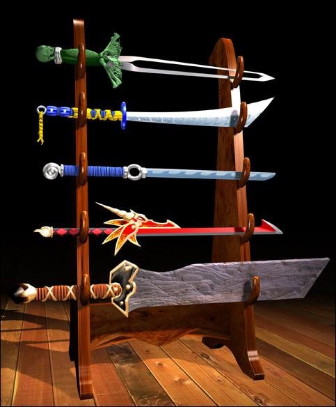 Swords - Revenge of Shinobi