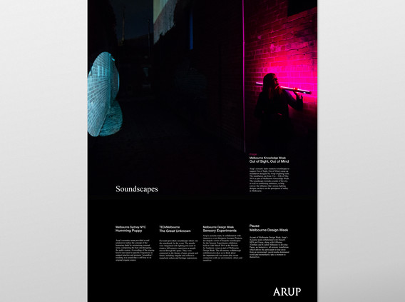 ARUP ACOUSTICS 20 YEARS POSTERS