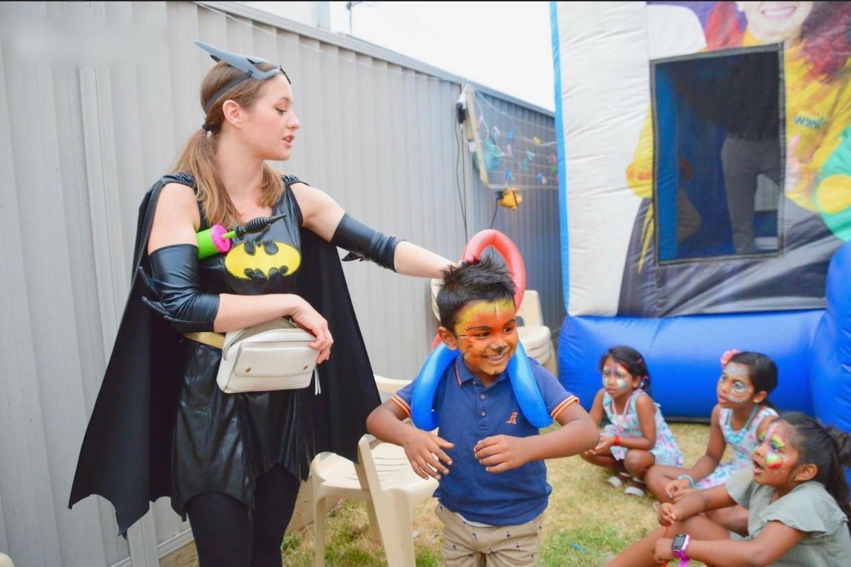 Batgirl Super Hero Party