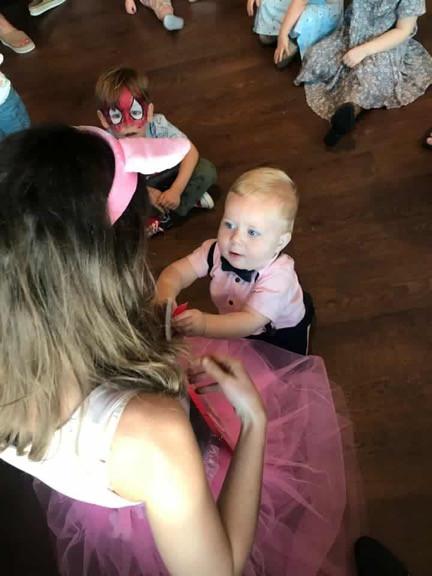 1st Birthday Party Peppa Pig Theme