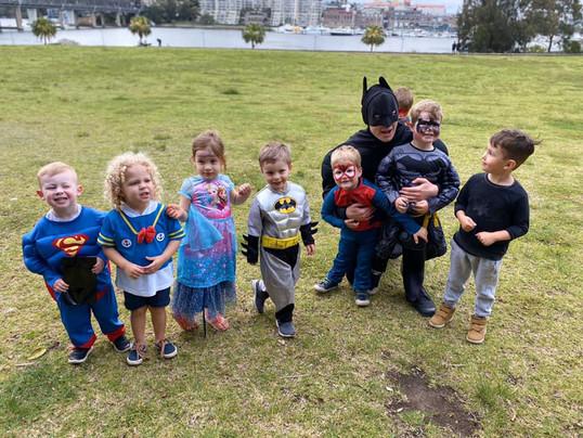 Batman Kids Party Host