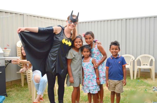 Batgirl kids party