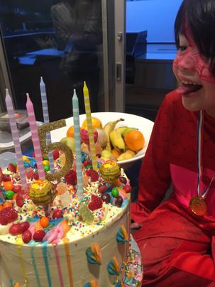 Spider Woman Kids Birthday Cake