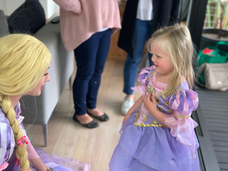 Rapunzel Birthday Theme Entertainment
