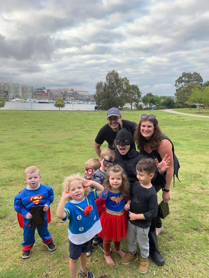 Kids Party Entertainer Super Hero Party