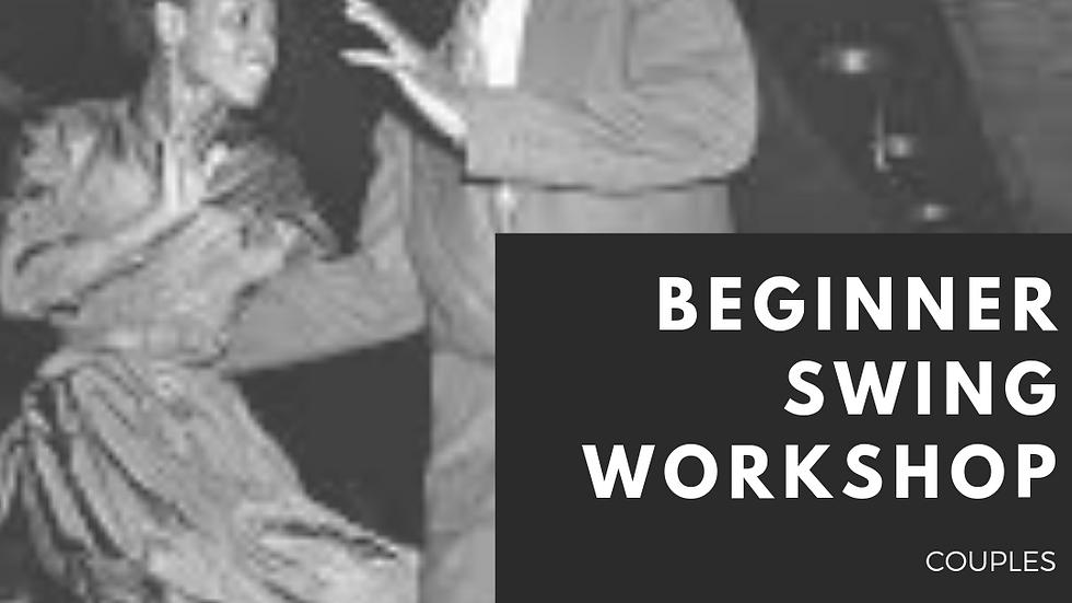 Beginner Swing Workshop- Couple