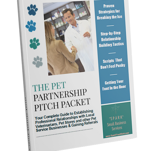 Pet Partnership Pitch Packet