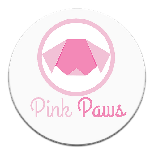 Dog Trainer Logo +Brand Collection: Pink Paws