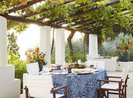 Italian Exterior Inspirations: Dining Al Fresco