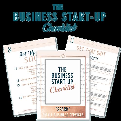 The Start-up Checklist