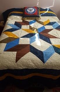 Naval Officer Quilt