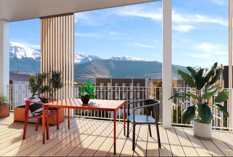 Projet ARTHUR LOYD & ARTE PARC - Perspective terrasse secteur tertiaire