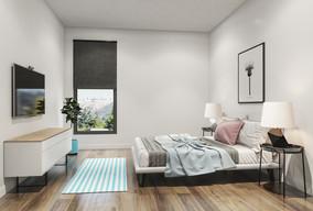 Perspective intérieure chambre