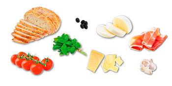 Ingrédients Bruschette